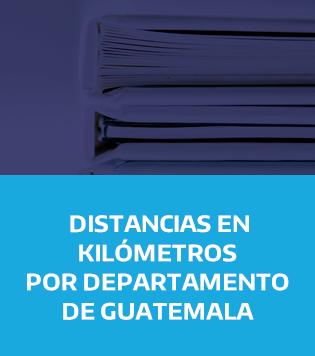 DISTANCIAS DEPARTAMENTOS GUATEMALA