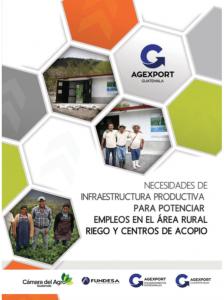 INFRAESTRUCTURA POTENCIAR EMPLEOS AREA RURAL RIEGO CENTROS ACOPIO