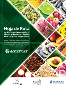 HOJA DE RUTA AGRICOLA Y PESCA