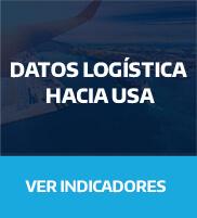 Datos logísticos hacia EEUU