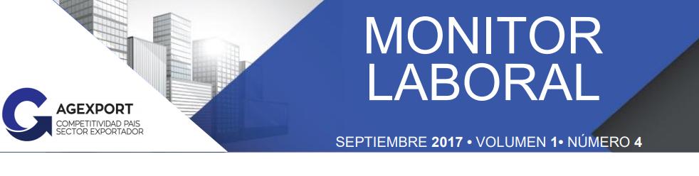 Monitor Laboral Septiembre 2017